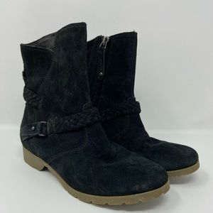 Teva De La Vina Waterproof Suede Side Zip Boot